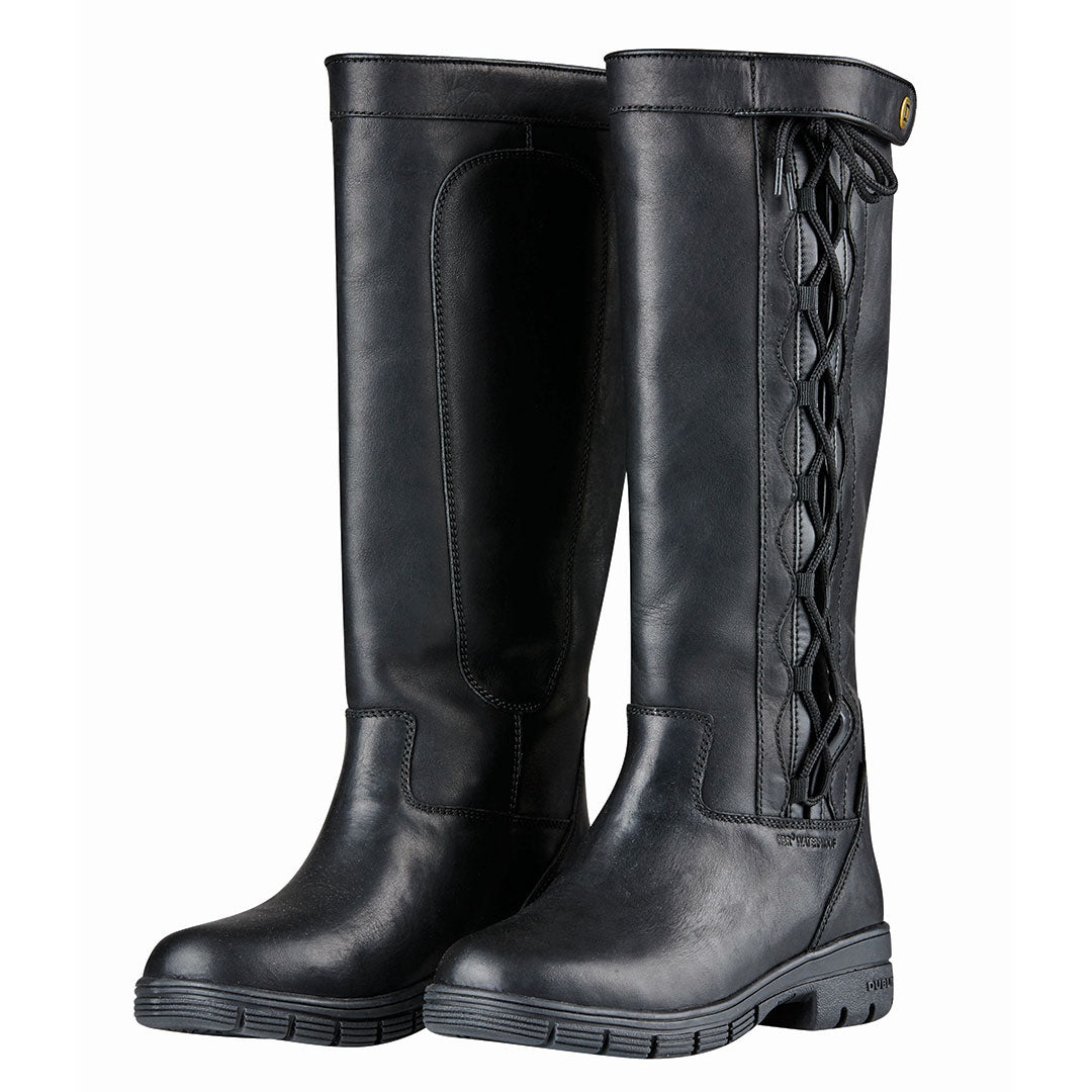 Dublin Pinnacle Grained Black Boots