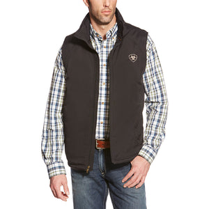 Ariat Team Logo Insulated Mens Black Vest