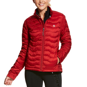 Ariat Ideal 3.0 Down Laylow Women's Red Jacket