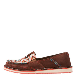 Ariat Cruiser Brown Aztec Womens Shoe