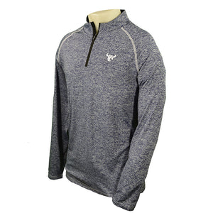 Cowboy Sports Knit Heather Navy Mens Pullover