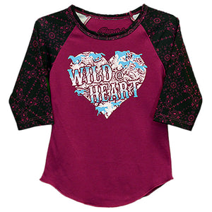 Cowgirl Hardware Wild @ Heart Jersey Top