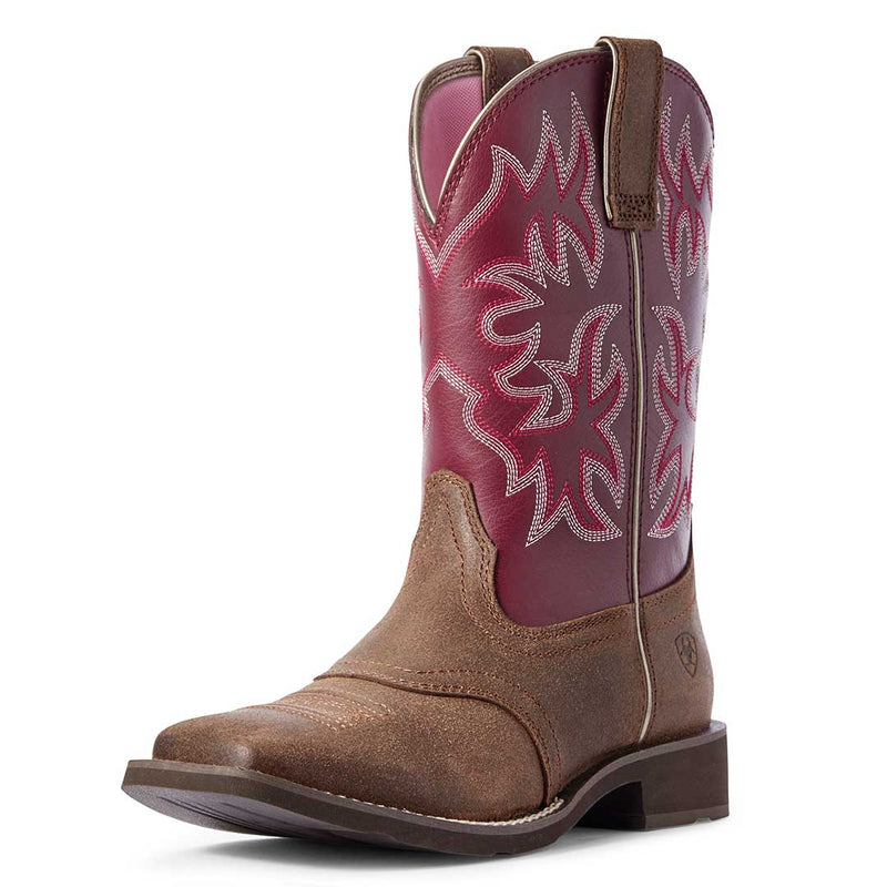 Ariat Women's Delilah Square Toe Cowgirl Boots