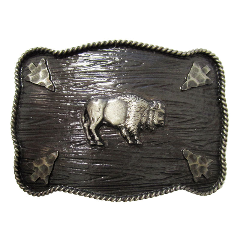 AndWest Iconic Buffalo Rectangle Buckle
