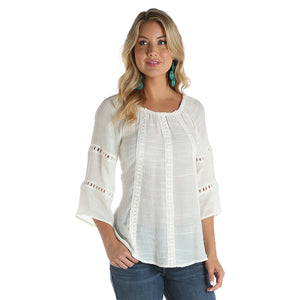 Wrangler Off Shoulder Crinkle Top
