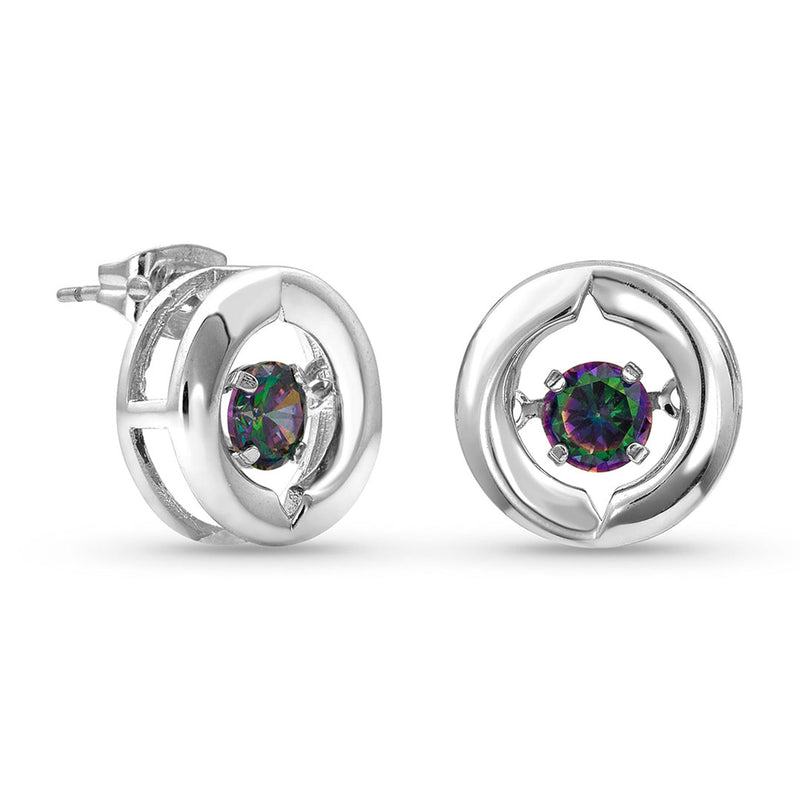 Montana Silversmiths Women's Ring Around A Northern Star Earrings