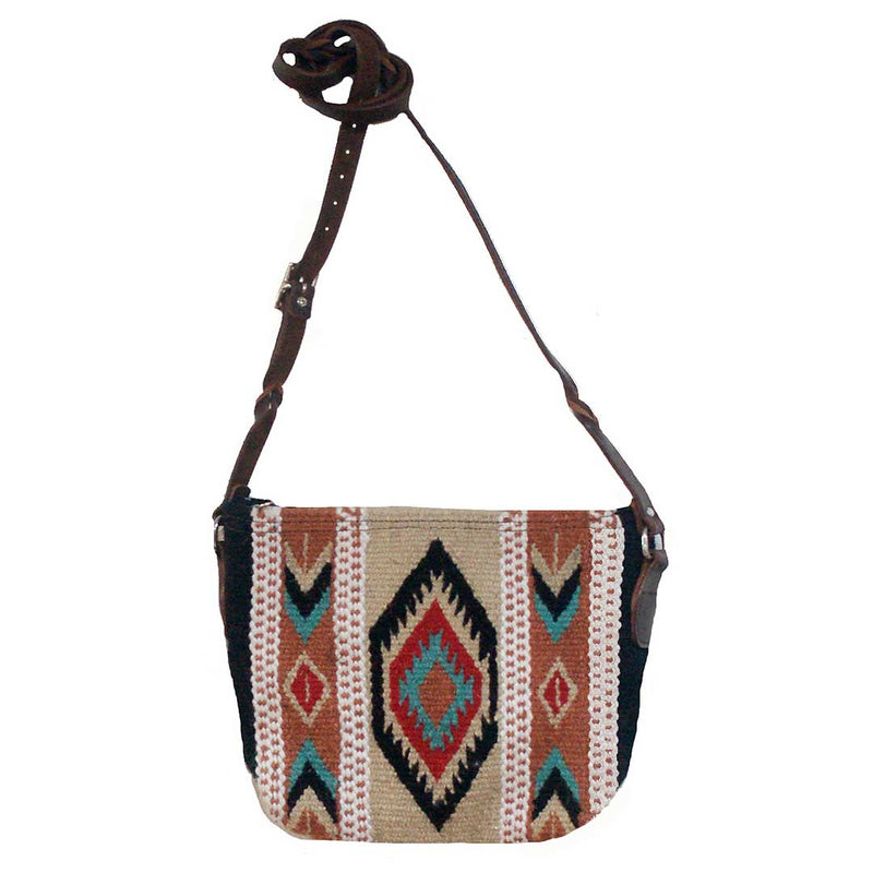 Twisted X Women's Aztec Pattern Woven Handbag