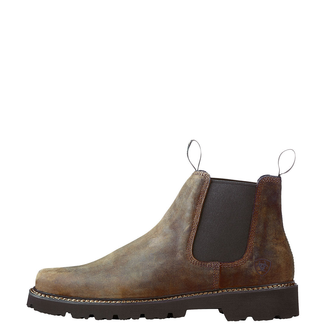 Ariat Spot Hog Dark Brown Mens Western Boot