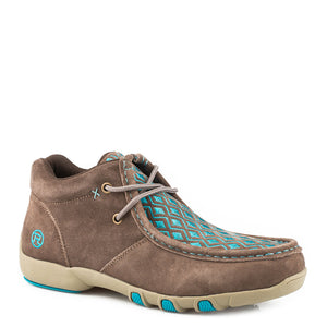 Roper High Country Diamond Womens Driving Moc