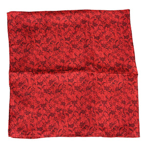Austin Accent Red Floral Wild Rag