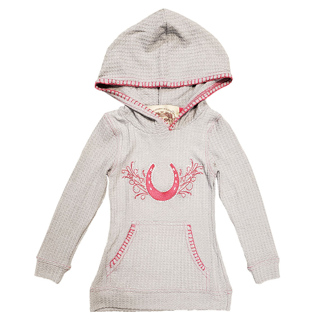 Cowgirl Collection Thermal Grey Hoodie
