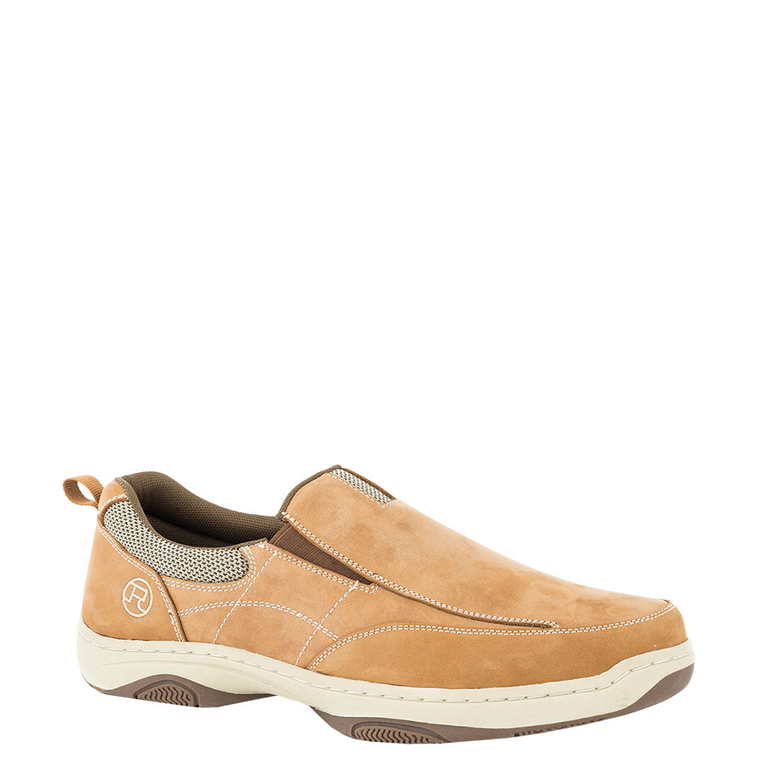 Roper by Karman Skipper Nubuck Boat Shoe