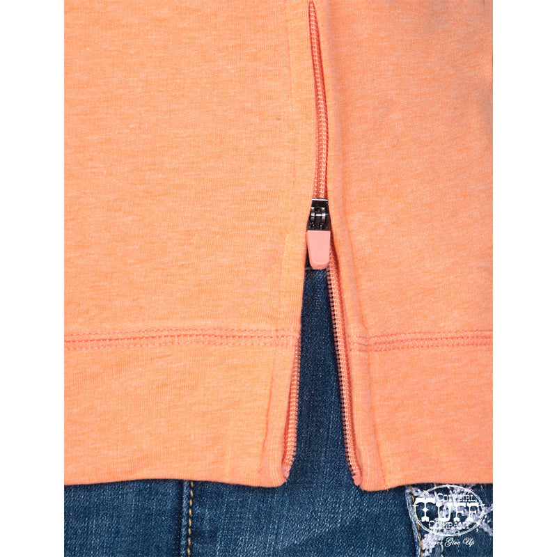 Cowgirl Tuff™ Athletic Coral Hoodie