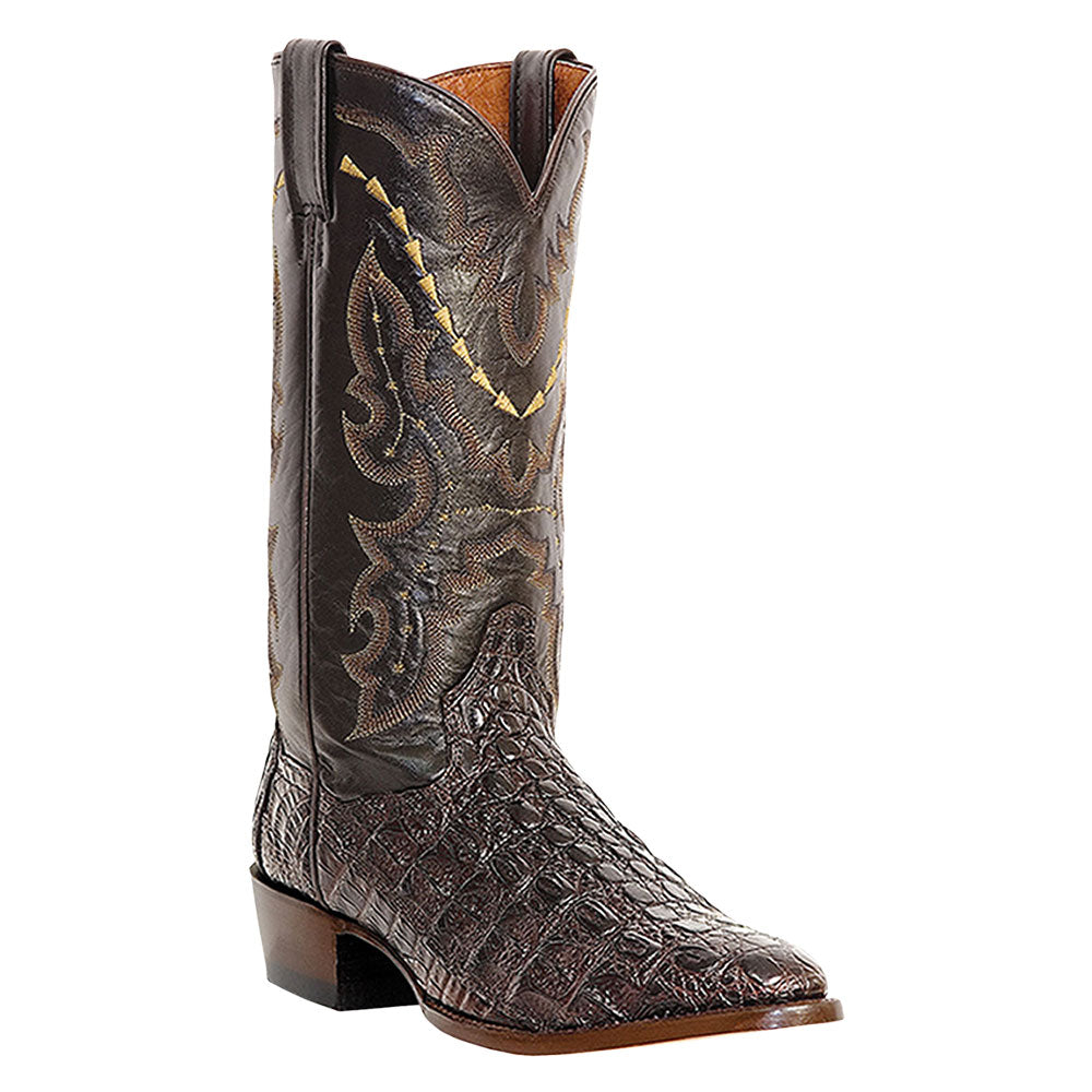 Dan Post Birmingham Caiman Brown Cowboy Boots
