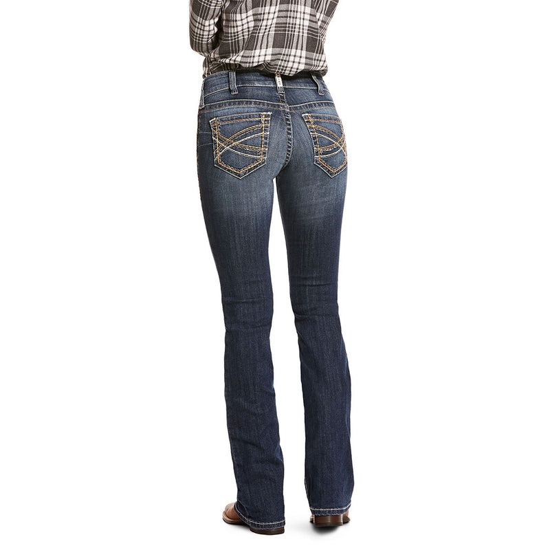 Ariat Women's R.E.A.L. Entwined Festival Stretch Bootcut Jeans