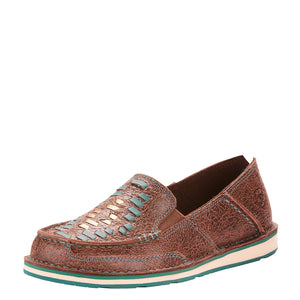 Ariat Cruiser Turquoise Weave Womens Shoe