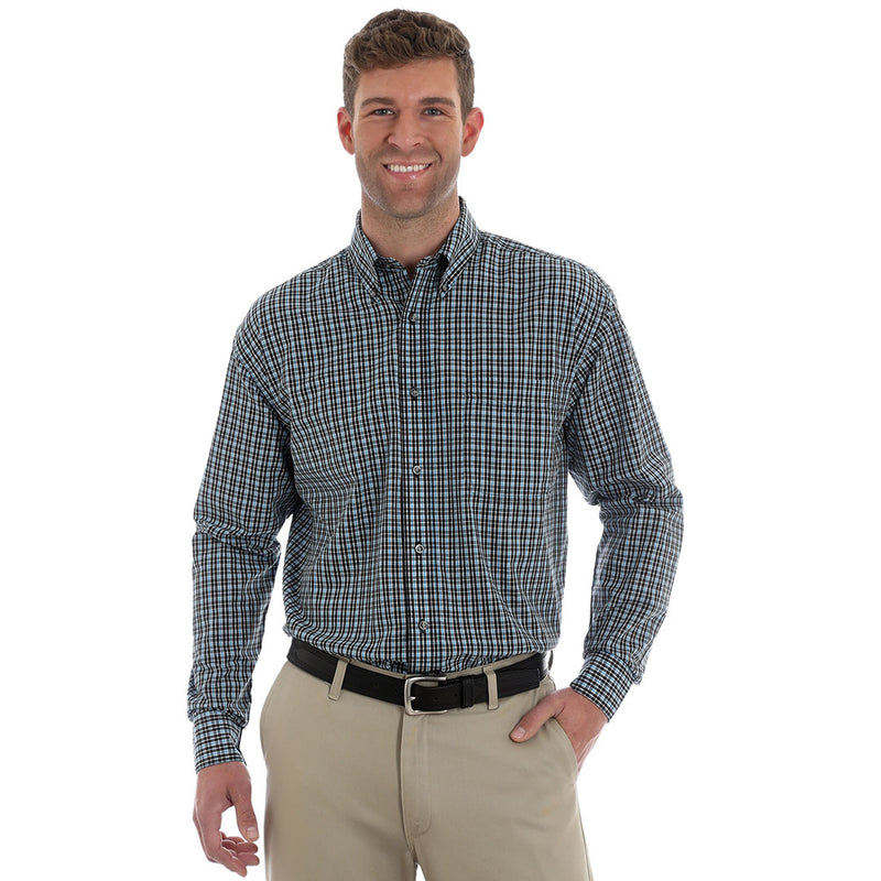 Wrangler® Riata® Plaid Dress Shirt