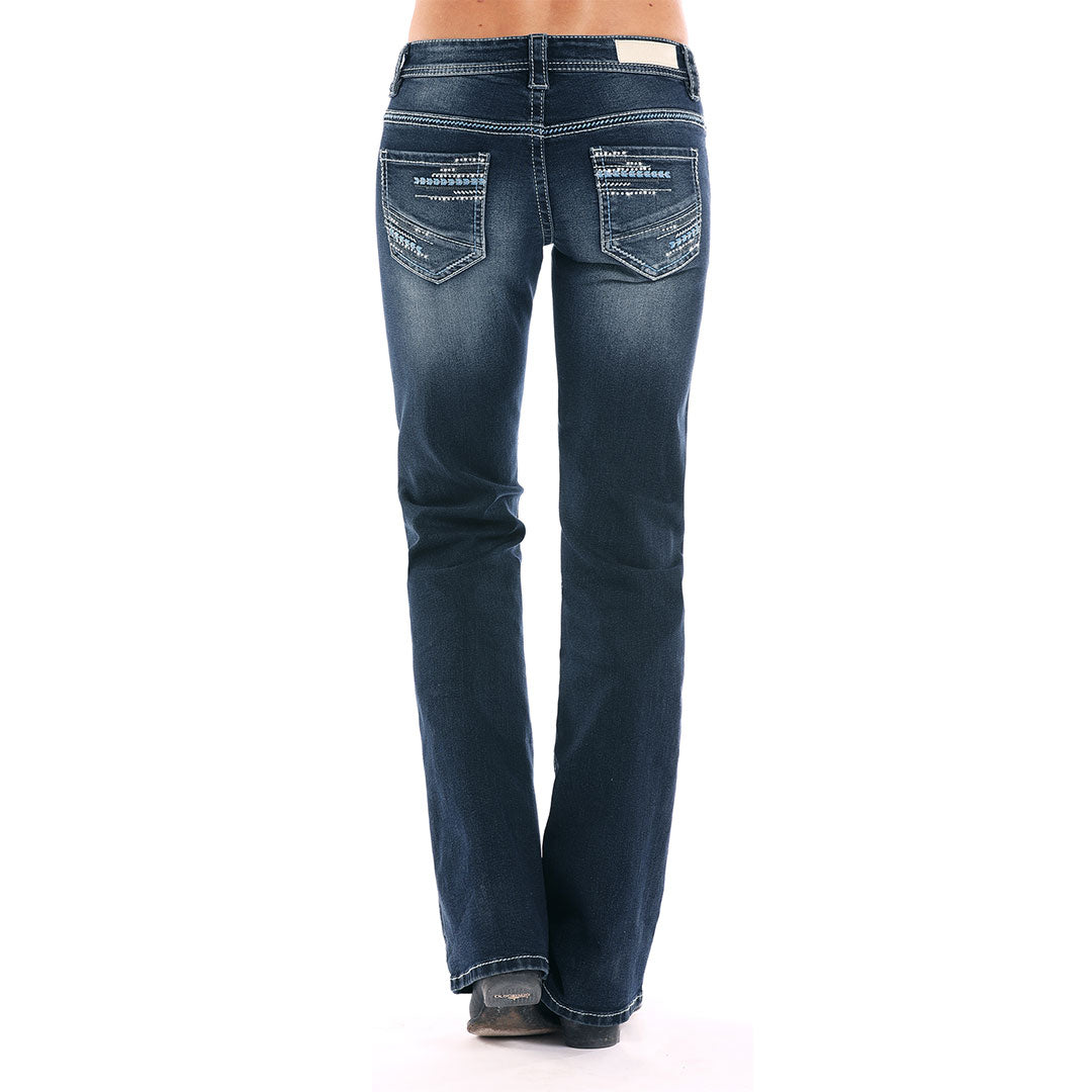 Rock & Roll Denim Vintage Wash Jeans