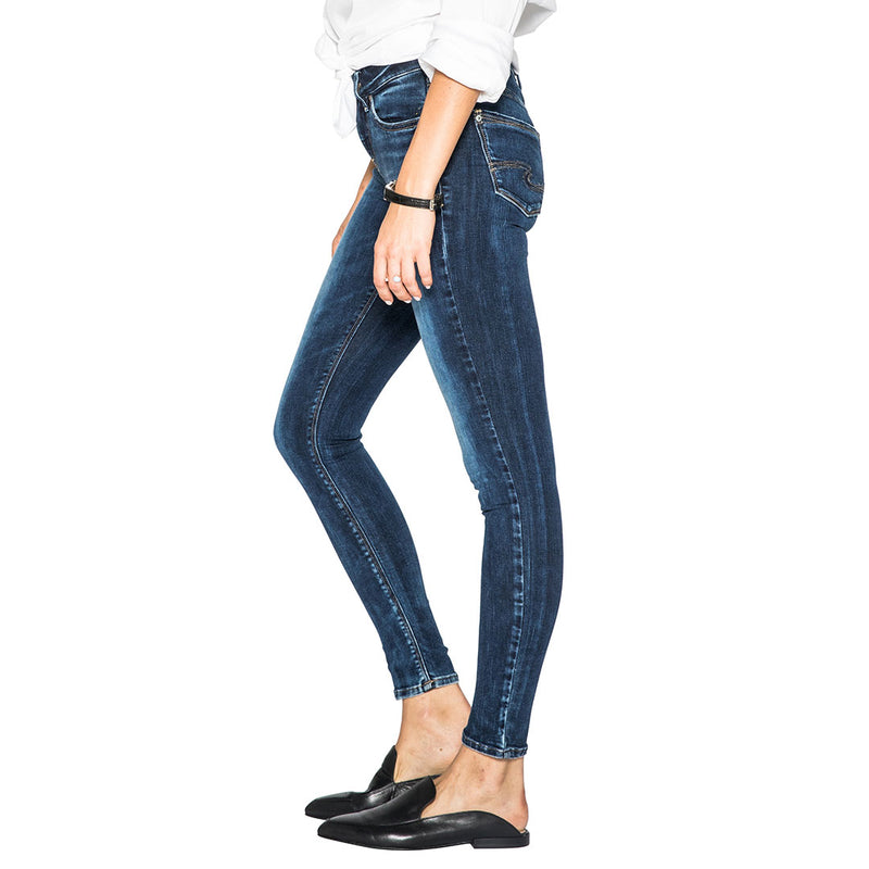 Silver Jeans Avery High Rise Dark Wash Skinny Jean
