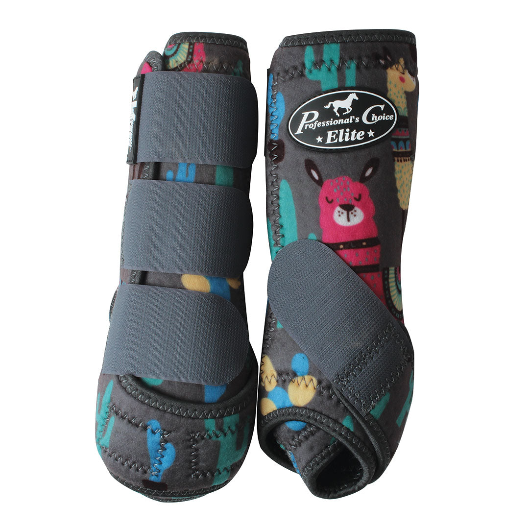 Professional's Choice VenTech  Llama Print Boots 4 Pack