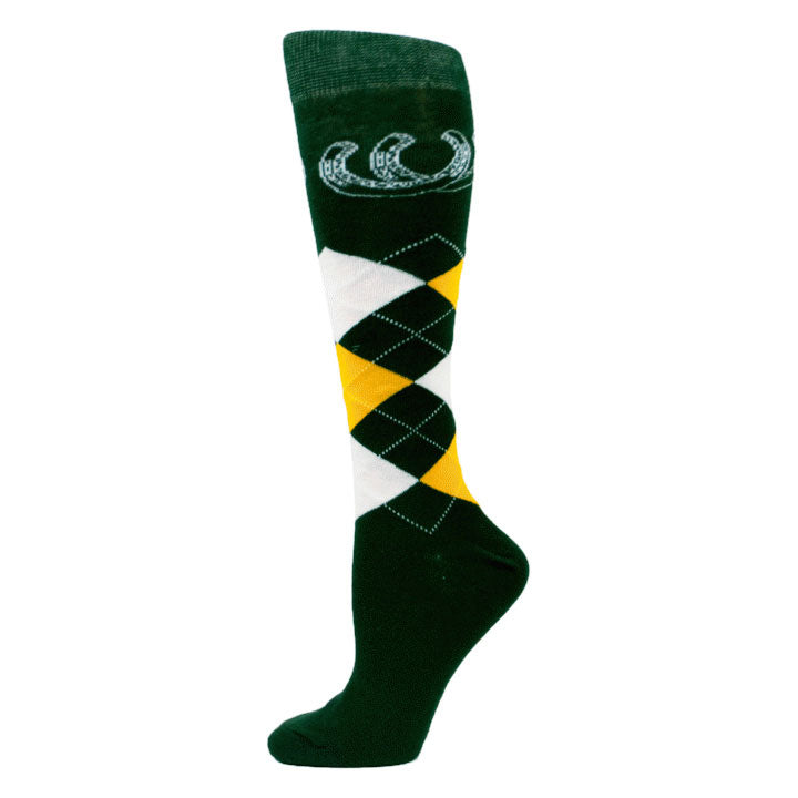 Royal Highness Equestrian Argyle Socks