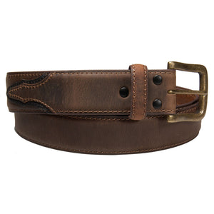 AndWest Two-Tone Billet Belt