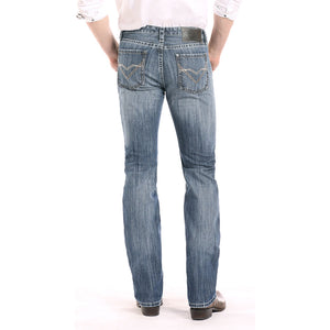 Rock & Roll Denim Revolver Straight Leg Jeans