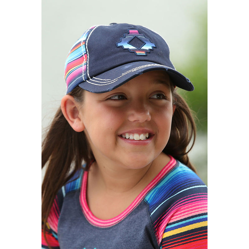 Cinch Girl's Serape Baseball Cap