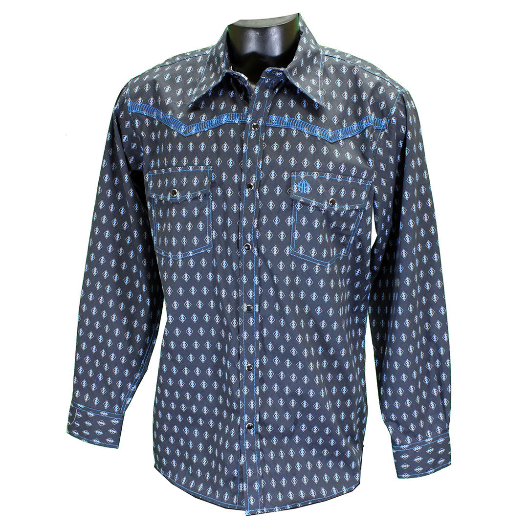 Cowboy Hardware Diamond Print Shirt