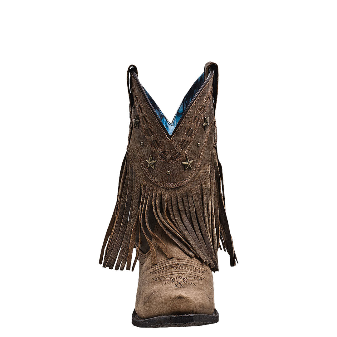 Dingo Hang Low Crazy Horse Cowgirl Boots