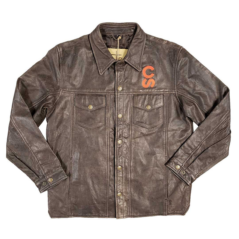 STS Ranchwear Embroidered Calgary Stampede Leather Jacket