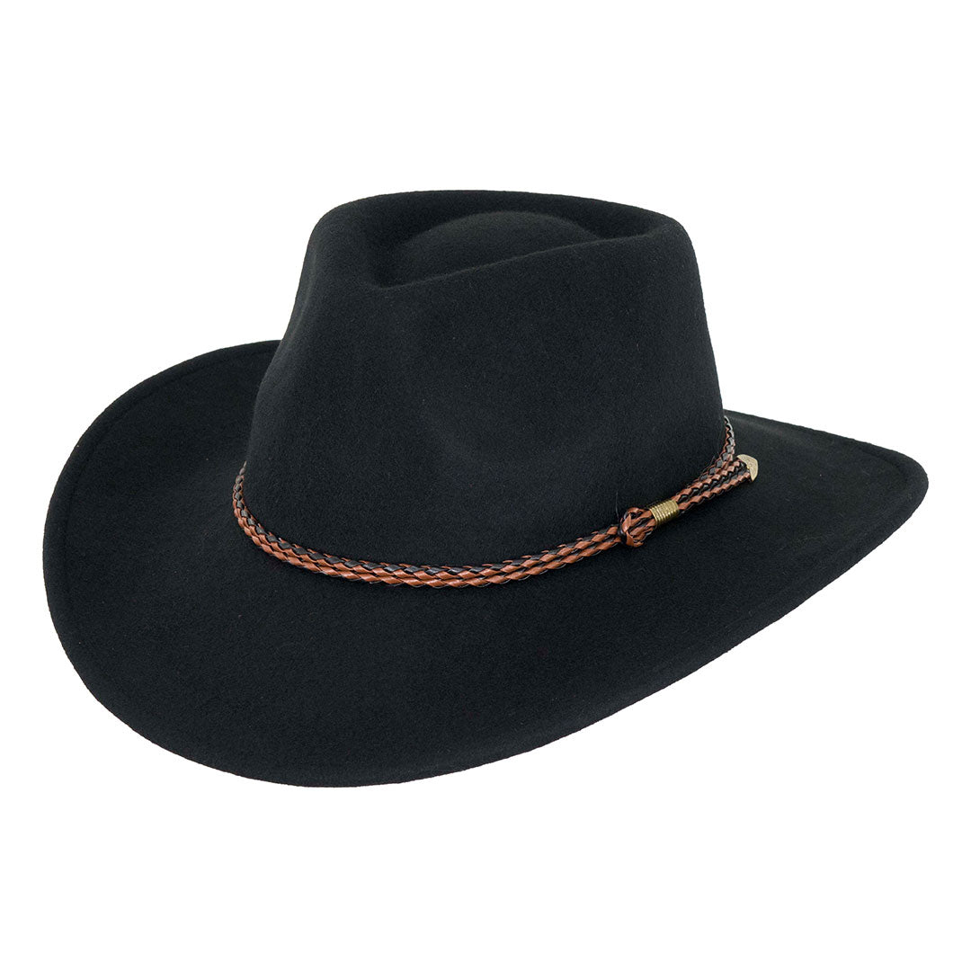Outback Trading Co. Broken Hill Wool Hat