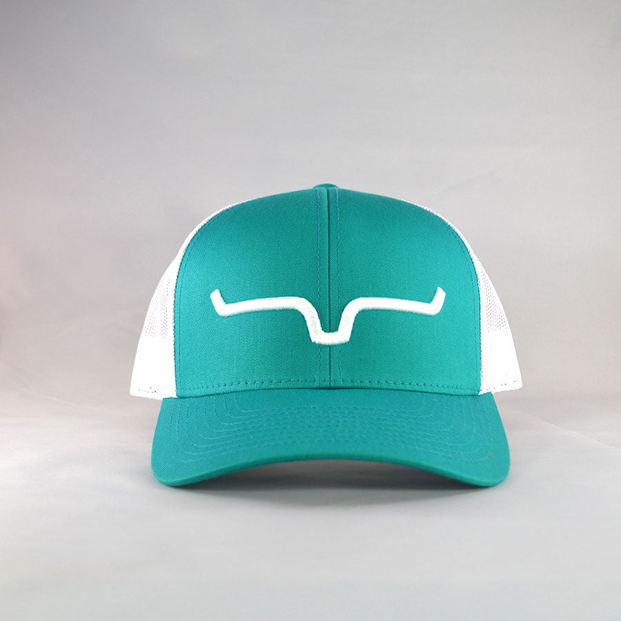 Kimes Ranch Weekly Trucker Teal Cap