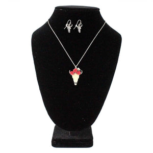 Cindy Smith Rose Crown Small Steer Skull Set