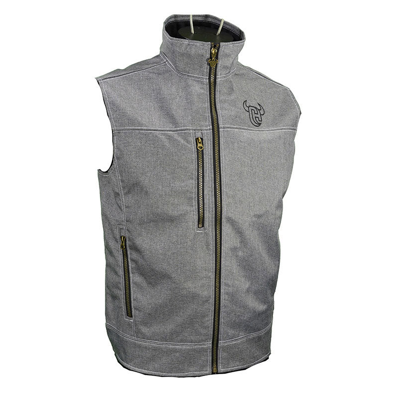 Cowboy Hardware Tech Woodsman Heather Mens Vest
