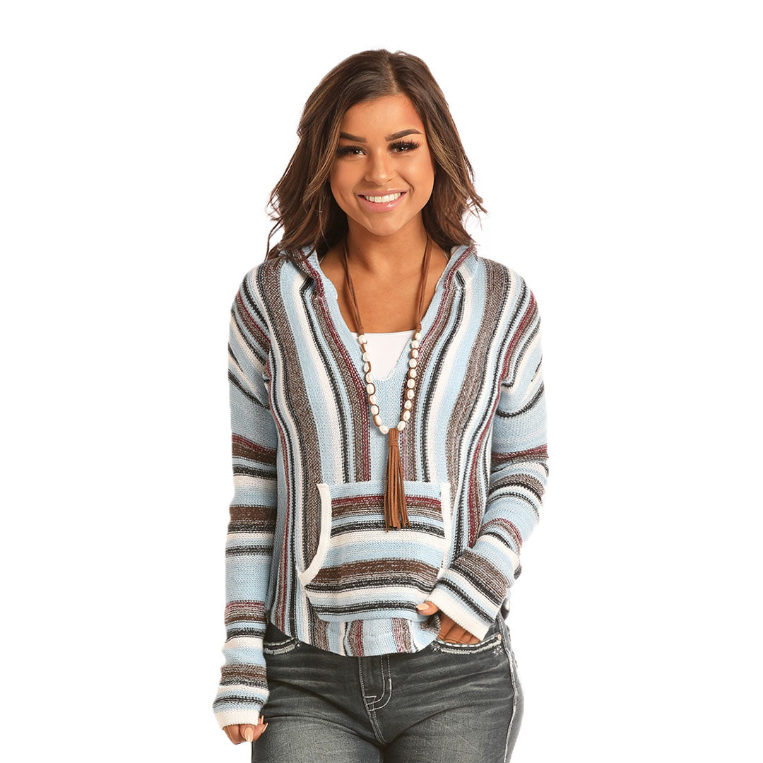 Rock & Roll Cowgirl Women's Knitted Hoodie