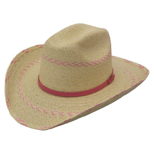 Atwood Hat Co. Pink Pinto Cowgirl Hat
