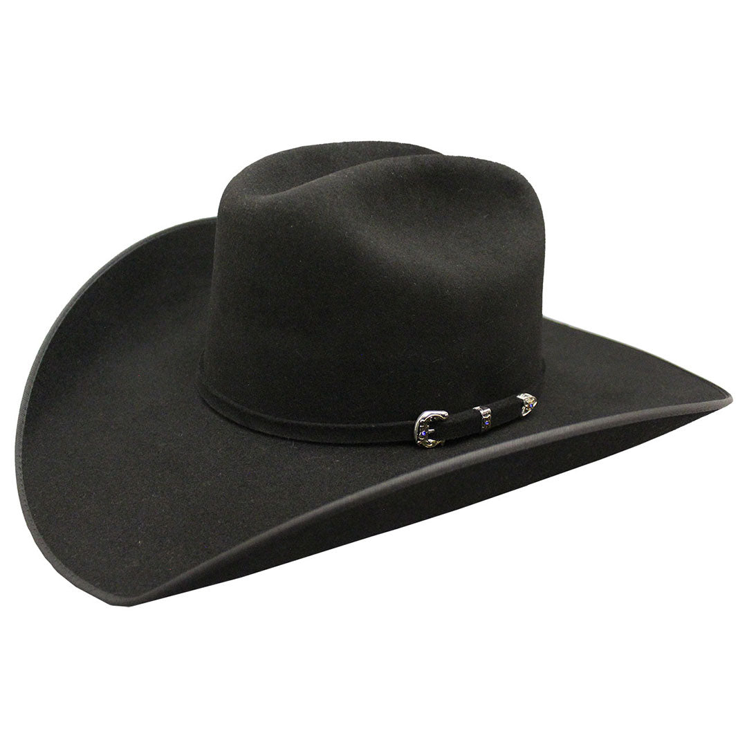 Serratelli Nogales Black Fur Felt Cowboy Hat