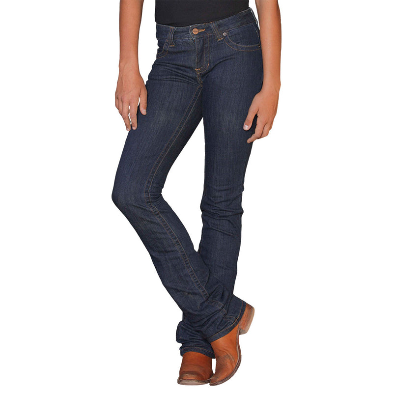 Kimes Ranch Women's Betty Mid Rise Bootcut Jeans