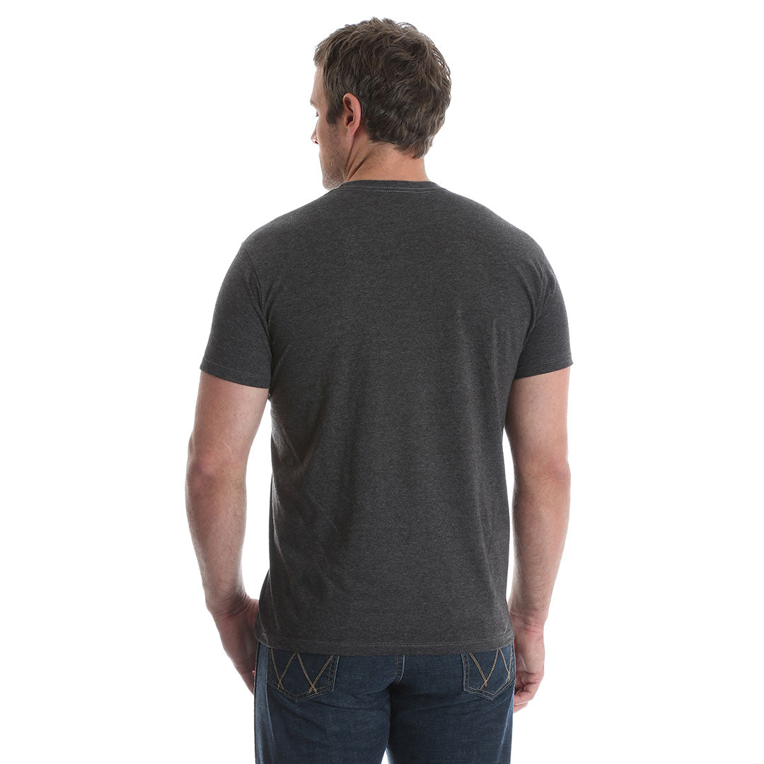 Wrangler® Charcoal Heather Vintage Logo T-Shirt