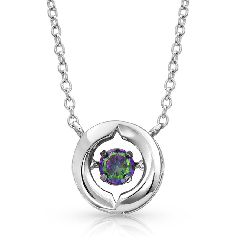 Montana Silversmiths Women's Ring Around A Northern Star Necklace