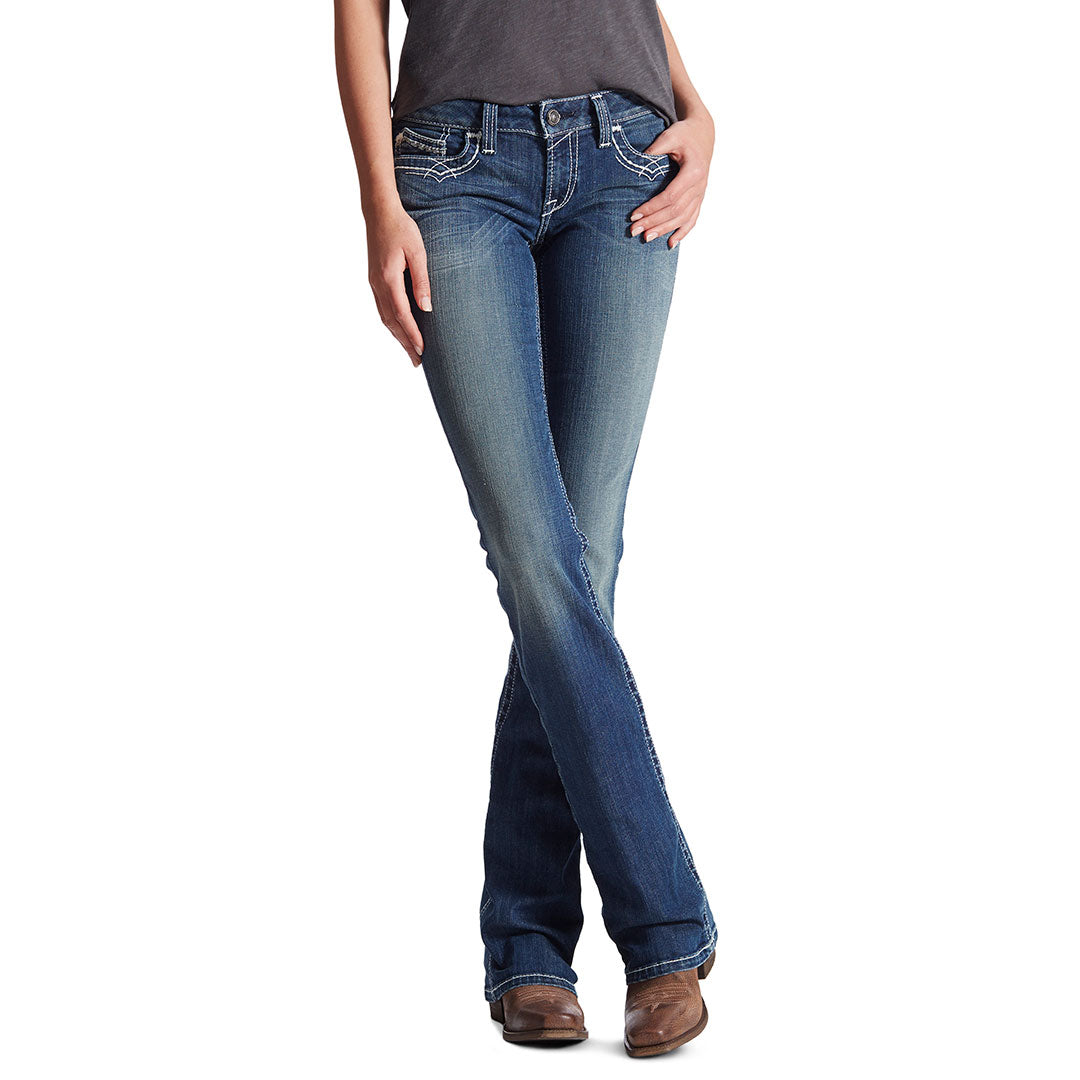 Ariat Women's R.E.A.L. Riding Bootcut Jeans