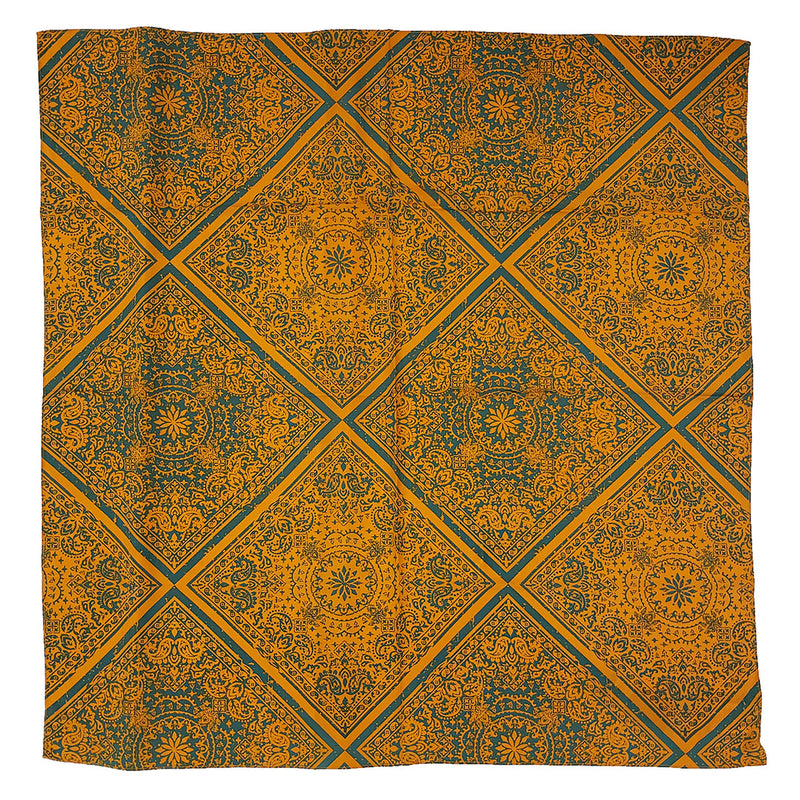 Wrangler Geo Print Green & Orange Wild Rag