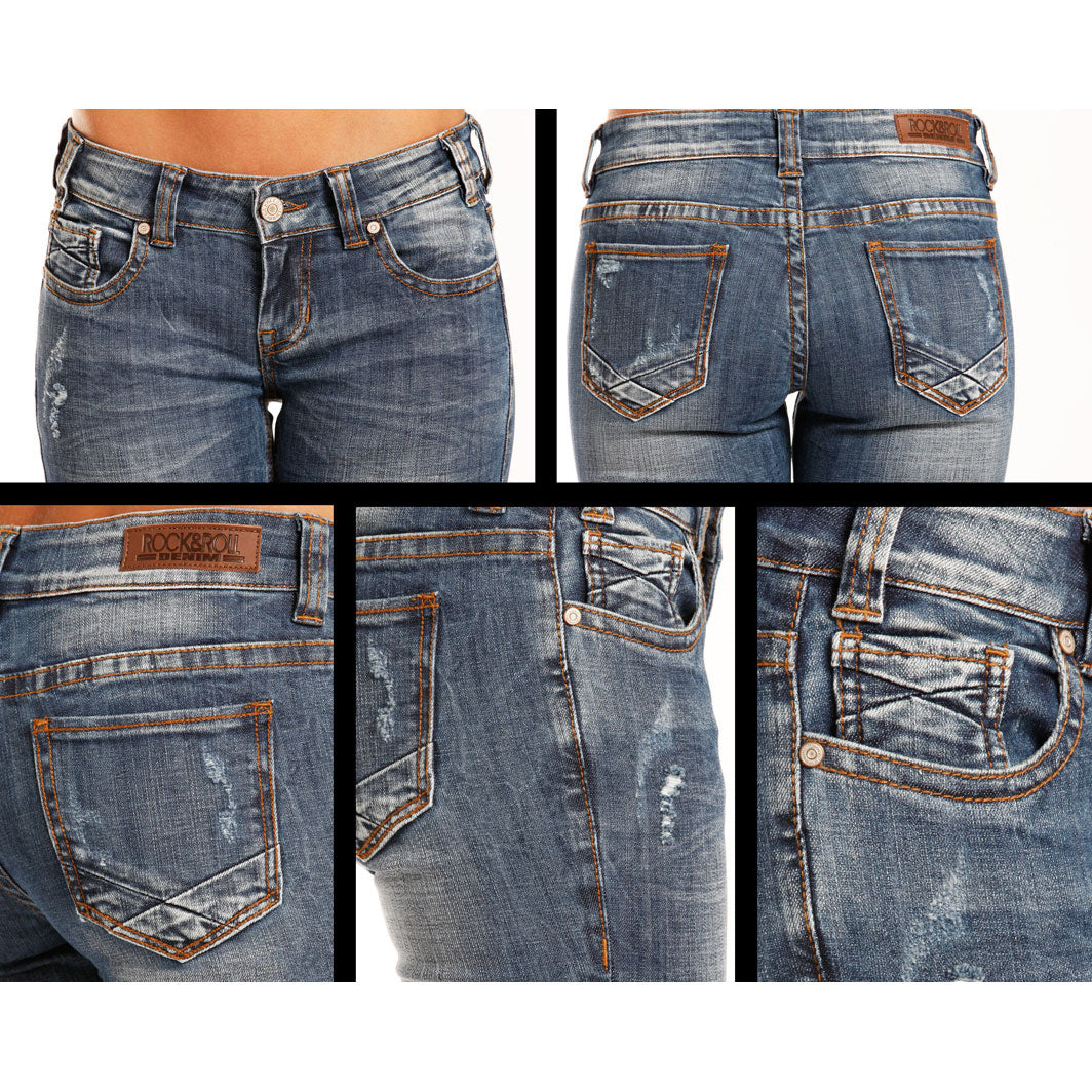 Rock & Roll Denim Low Vintage Skinny Jean
