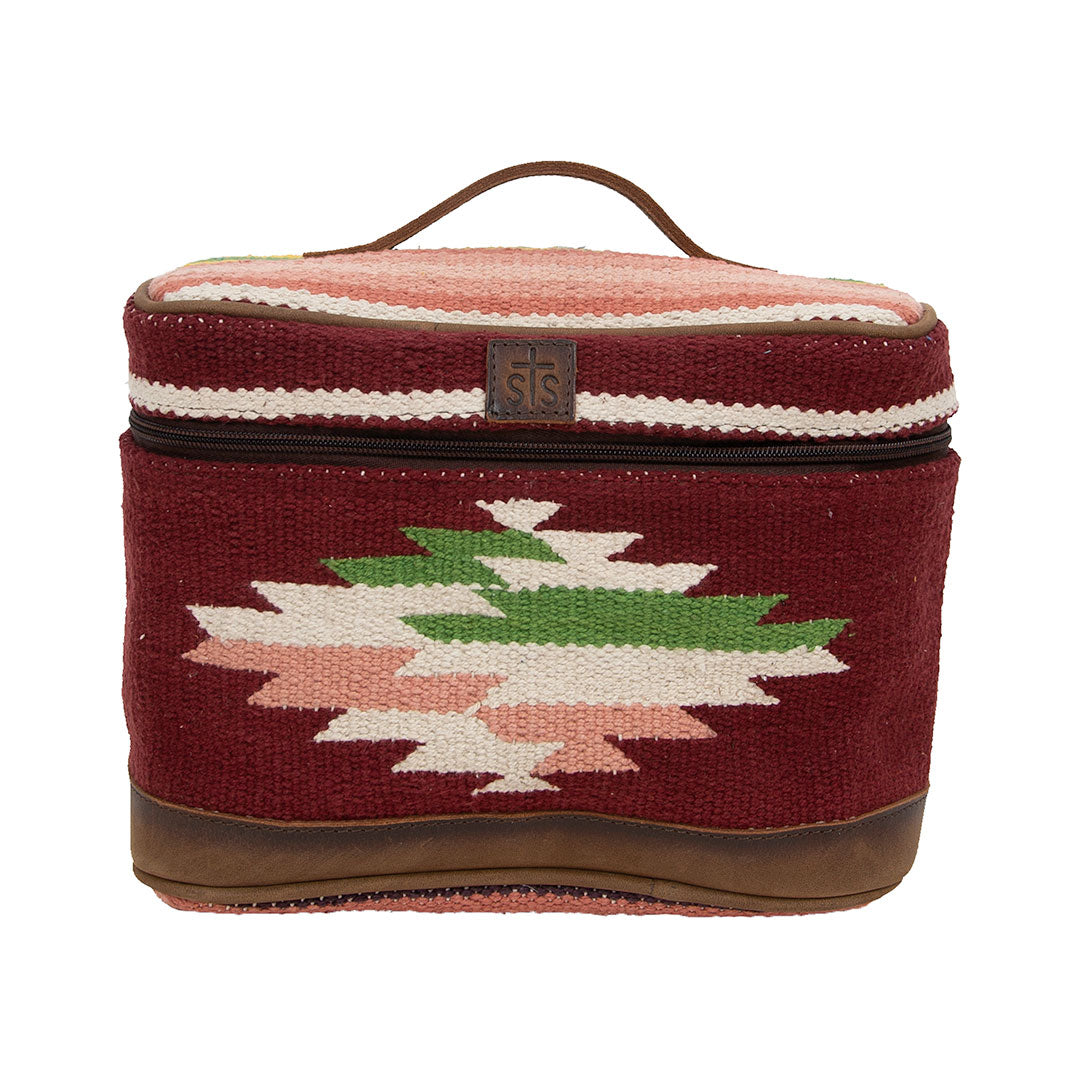 STS Ranchwear Serape Buffalo Girl Train Case