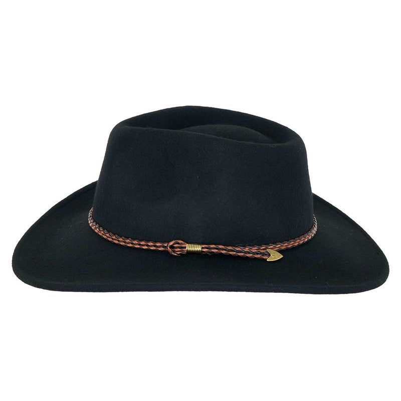 Outback Trading Co. Broken Hill Aussie Felt Cowboy Hat