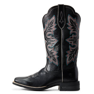 Ariat Breakout Jackal Black Cowgirl Boot