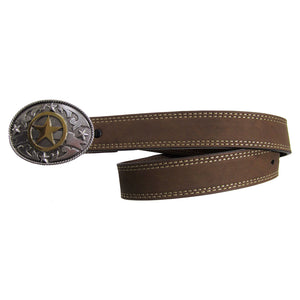AndWest Kid's Lonestar Buckle and Belt Set