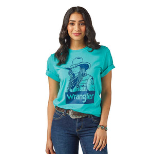 Wrangler Women's Graphic Print T-Shirt