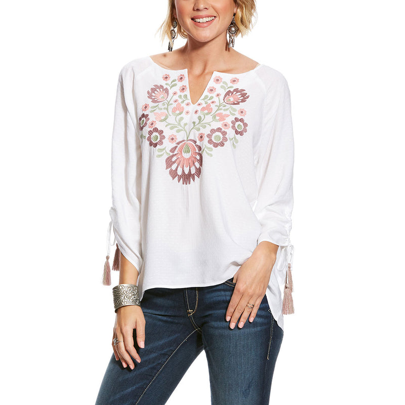Ariat Zinnia Embroidered Tunic